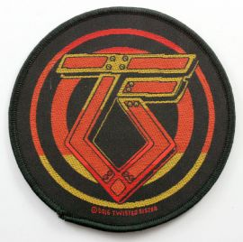 Twisted Sister - 'Logo' Round Woven Patch